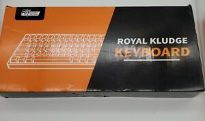 Royal Kludge RK61 Dual Mode blue switch White