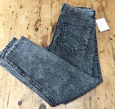 """Preloved """"DENIM & CO"""" Black Denim Skinny Jeans 32-34"""" W Entrejambe 29"""""""