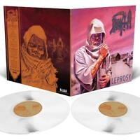 DEATH - LEPROSY (LIMITED MILKY CLEAR 2LP+MP3)  2 VINYL LP + MP3 NEW!