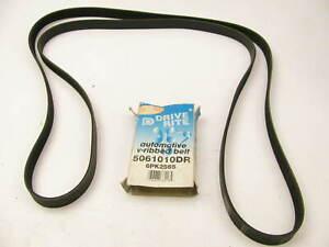 "Drive-rite 5061010DR Serpentine Belt - 0.84"" X 101.50"" - 6 Ribs"