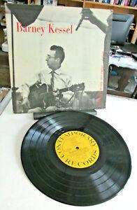 BARNEY KESSEL JAZZ Guitar 10 inch LP Record, 1954 Contemporary Records C2508