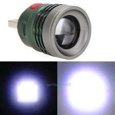 Portable USB LED Power Bank Flashlight Head Lamp 3W Extension Light Torch 3Mode