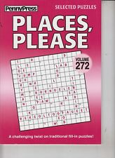 PennyPress Selected Puzzles 2016 Places, Please Volume 272
