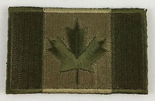 Canada Canadian Tactical Flag Patch Embroidered Iron On Applique Military