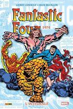 Comics Integrale Panini Fantastic Four 1974 Lu Qu'une fois TTBE