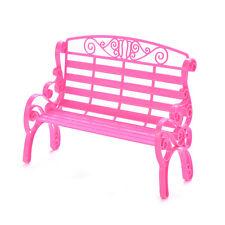 1 X Fashion Beach Stühle für Barbies Puppenhaus Möbel Doppel Stuhl Kinder Nn