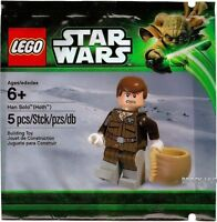 Lego Han Solo Minifigure (Hoth) from Polybag 5001621 Star Wars NEW SEALED sw466
