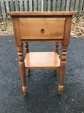 Ethan Allen Baumritter Valley Forge Heirloom Maple Nutmeg Nightstand