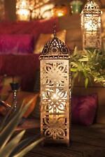 Moroccan Menara Steel Indoor Outdoor Lantern - Medium