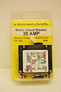 Blue Sea Systems Circuit Breaker 30 Amp 65V DC/277V AC Cat. No. 7222