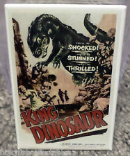 "King Dinosaur Movie Poster 2"" x 3"" Refrigerator Locker Magnet"