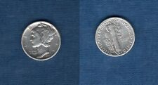 Etats Unis USA United States - Mercury Dime 1944 Silver Argent