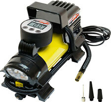 12V DC Portable Air Compressor Pump, Digital Tire Inflator, Multiple Uses