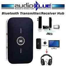 Audio Blue Bluetooth Audio Transmitter/Receiver-Convert Speakers/TV 2 Bluetooth