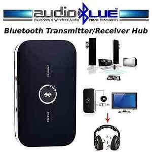 AudioBLUE- Bluetooth Audio Transmitter Receiver-Convert Speakers/TV 2 Bluetooth