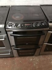 Zanussi Electric Cooker 55cm width **FAN ASSISTED OVEN ** STAINLESS STEEL COLOUR
