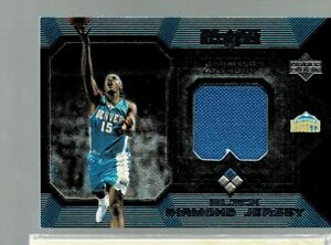 2005-06 Upper Deck Black Diamond Carmelo Anthony Jersey Relic