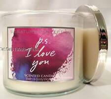 PS I LOVE YOU Candle 14.5 oz Bath & Body Works *RARE*