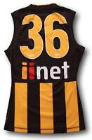 2015 Hawthorn Player Issue Away Football Jumper Guernsey Size S