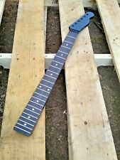 MODERN 22 FRET ROSEWOOD BLACK TELE NECK REPLACEMENT GUITAR NECK PROJECT.