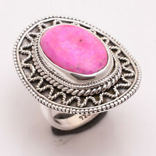 925 Sterling Silver Ring SizeUS 6, Natural Pink Sugilite Gemstone Jewelry CR2536