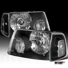 For 2001-2011 Ford Ranger Headlights+Corner Black Signal Lamps Corner Lights