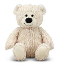 Melissa & Doug Blizzard Bear - Teddy Bear Stuffed Animal (13 inches long)