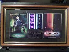 Star Trek - The Motion Picture/Nemesis Duet  FRAMED MOVIE FILMCELLS