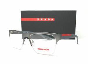 PRADA VPS 55F DG1-1O1 Grey Men's Eyeglasses 56 mm