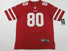 New Jerry Rice #80 San Francisco 49ers Game On-Field Jersey Red