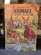 ALBUM FIGURINE LAMPO ANIMALI di tutto il mondo