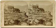 Stereofoto. Falkenberg am Rhein, von 1894