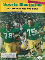 1968 PACKERS Forrest Gregg signed Sports Illustrated magazine w/ HOF JSA AUTO SI
