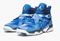 Boy's NIKE 305368 400 Air Jordan 8 Retro GS Basketball Shoes Sneakers Size: 6.5Y