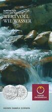 Folder 5 Euro - Land des Wassers ( 2013 )