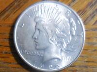 Uncirc 1923-P Peace Silver Dollar (Seller's # 759)