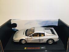 Ferrari Testarossa Hotwheels Elite 1/18 Maqueta Coche Edición Limitada Caballo