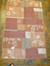 """Handmade Hand Tied Quilt 30"""" x 48"""" Brown Floral Quilt"""
