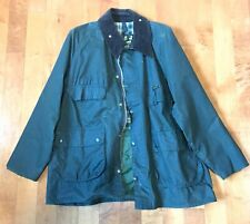 MINT MENS BARBOUR BEDALE CLASSIC WAXED COTTON JACKET size 46