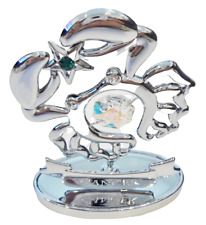Crystocraft Cancer Zodiac Crystal Ornament With Swarovski Elements Gift Boxed