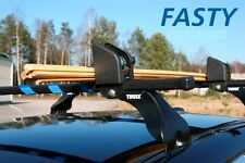 Winch Strap / Tie Down - Car Roof Cargo Rack - Blue Strap - THULE roof rack