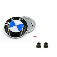 Emblem Logo 82 mm Für BMW F10 F20 E34 E36 E39 E60 E65 E61 E83 +Tüllen