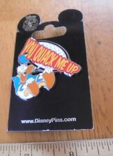 Donald Duck Disney Pin MOC You Quack me up laughing
