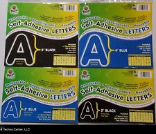 Pacon Self-Adhesive Letters, 4 Assorted Packs