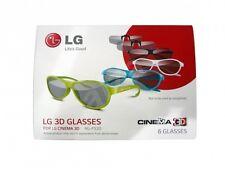 AG-F520 AG-F315 AG-F420 LG Glasses Occhiali 3D Passivi x6 pz (4+2 stereoscopici)