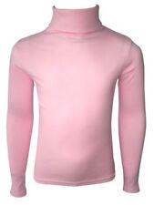 Mädchen-T-Shirts & -Tops aus 100% Baumwolle mit Rollkragen Größe 122