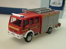Rietze Magirus Eurofire Pompier CHEMINS DE FER ALLEMANDS/ Nuremberg HLF - 68114