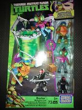 Teenage Mutant Ninja Turtles Baxter Mutation Lab Mega Bloks 73Pc Set TMNT
