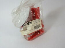 "Brady 45341 BS07A-RD 4-Legged Ball Valve Lockout 4.07""Hx3.05""Wx5.31""ID ! NWB !"