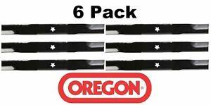 6 Pack Oregon 95-086 Mower Blade Fits Craftsman 127843 131323
